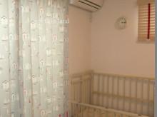 マリン柄のスタイルカーテン