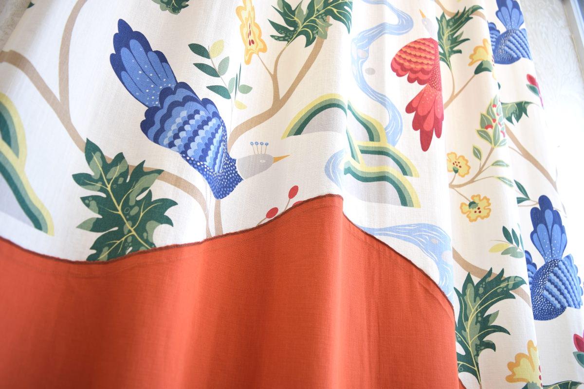 バードランド オリジナルデザインカーテン