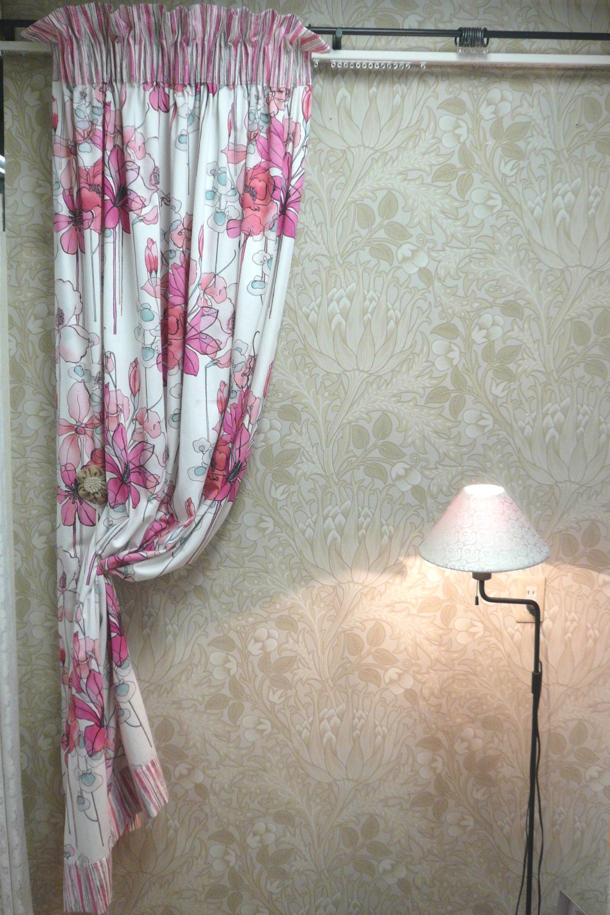 トップ&ボトムス バイカラーカーテン