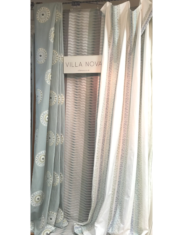 ヴィラノヴァのカジュアル&ボヘミアンスタイルなカーテン