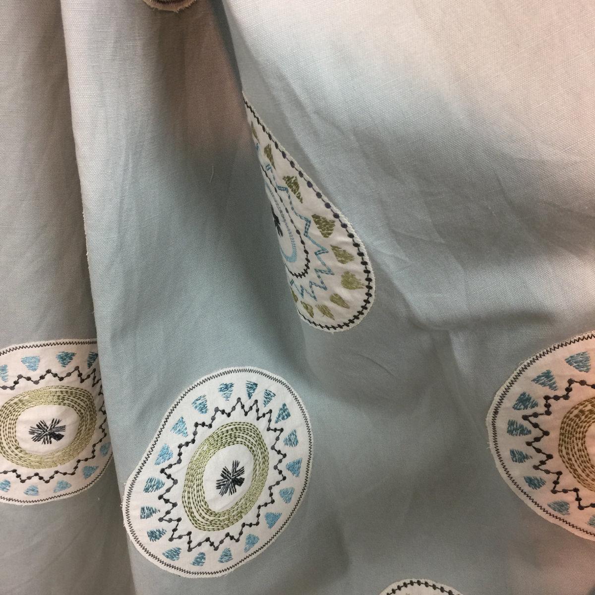 カジュアル&ボヘミアンスタイルなカーテン