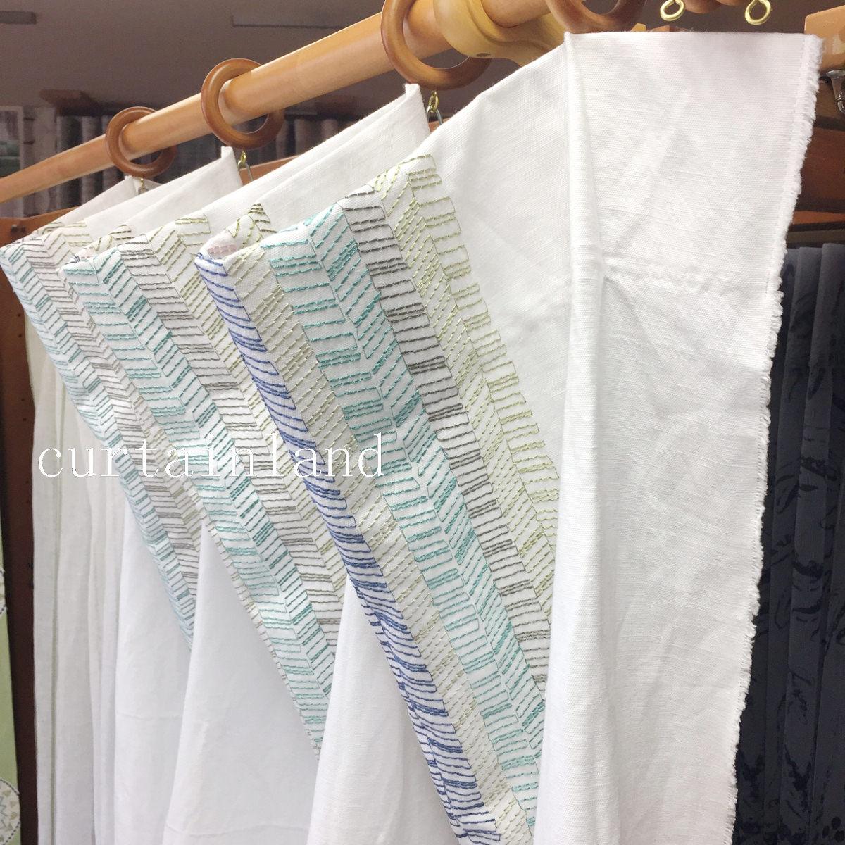 トリアングルプリーツカーテン