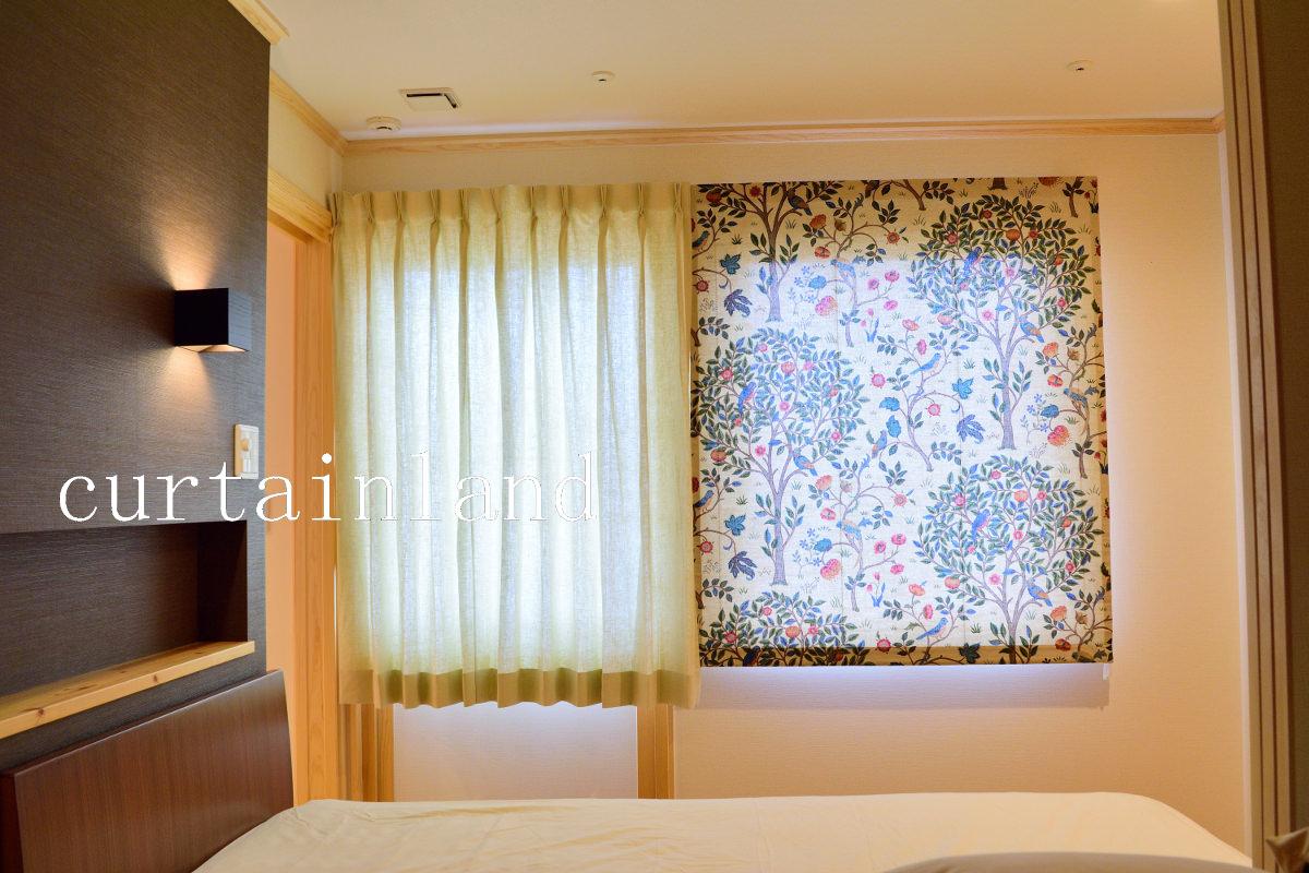スウェーデンハウス寝室