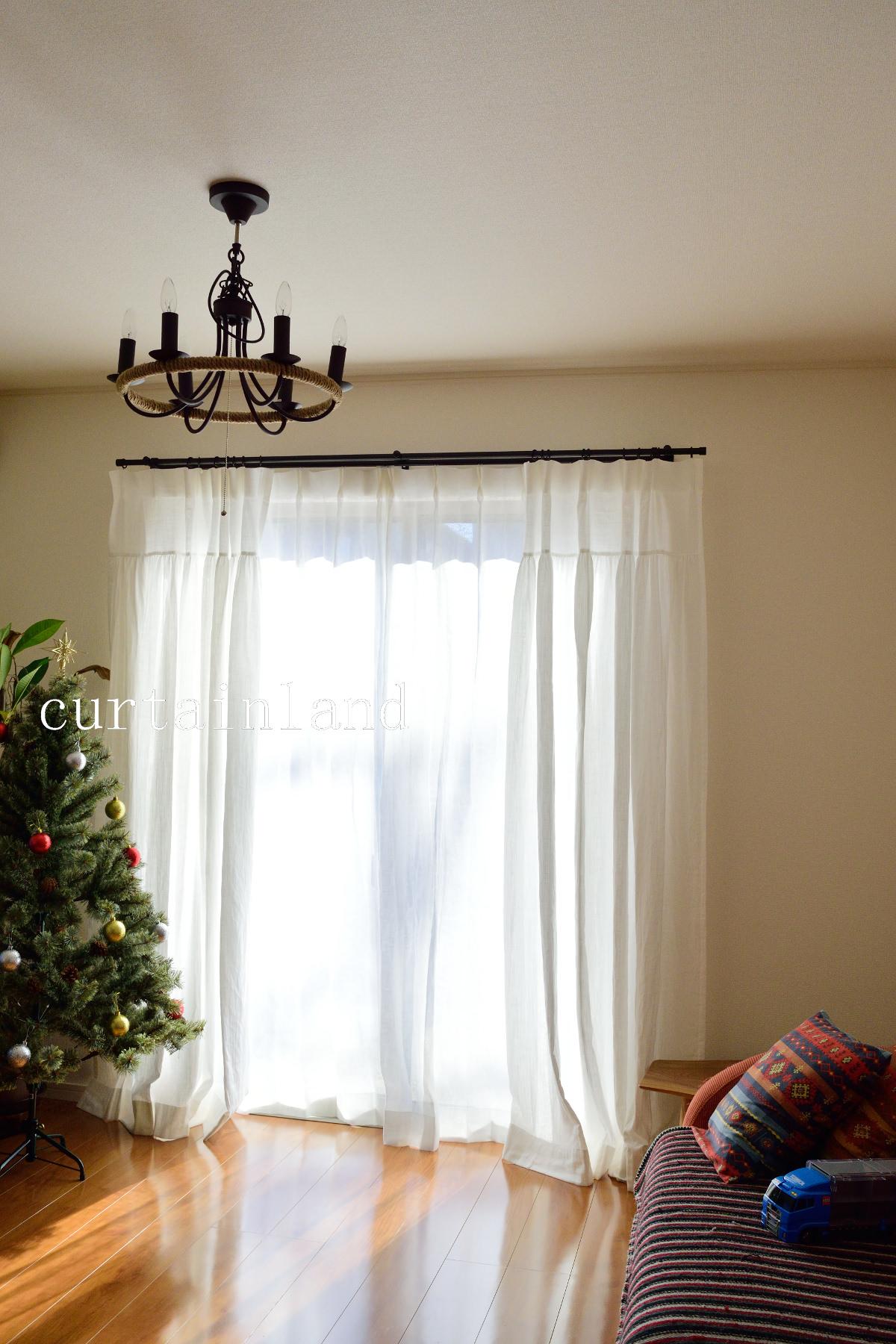 リノコトンドレススタイルカーテン