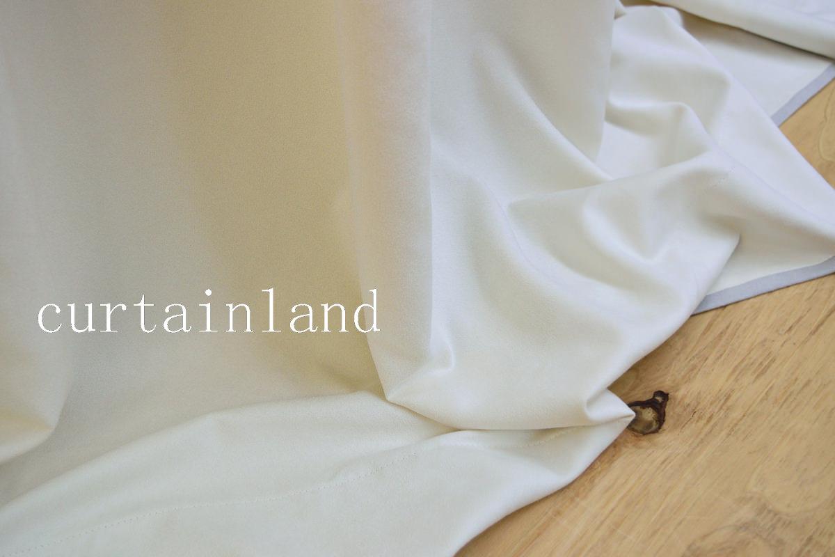 柔らかくしなやかなスエードカーテン