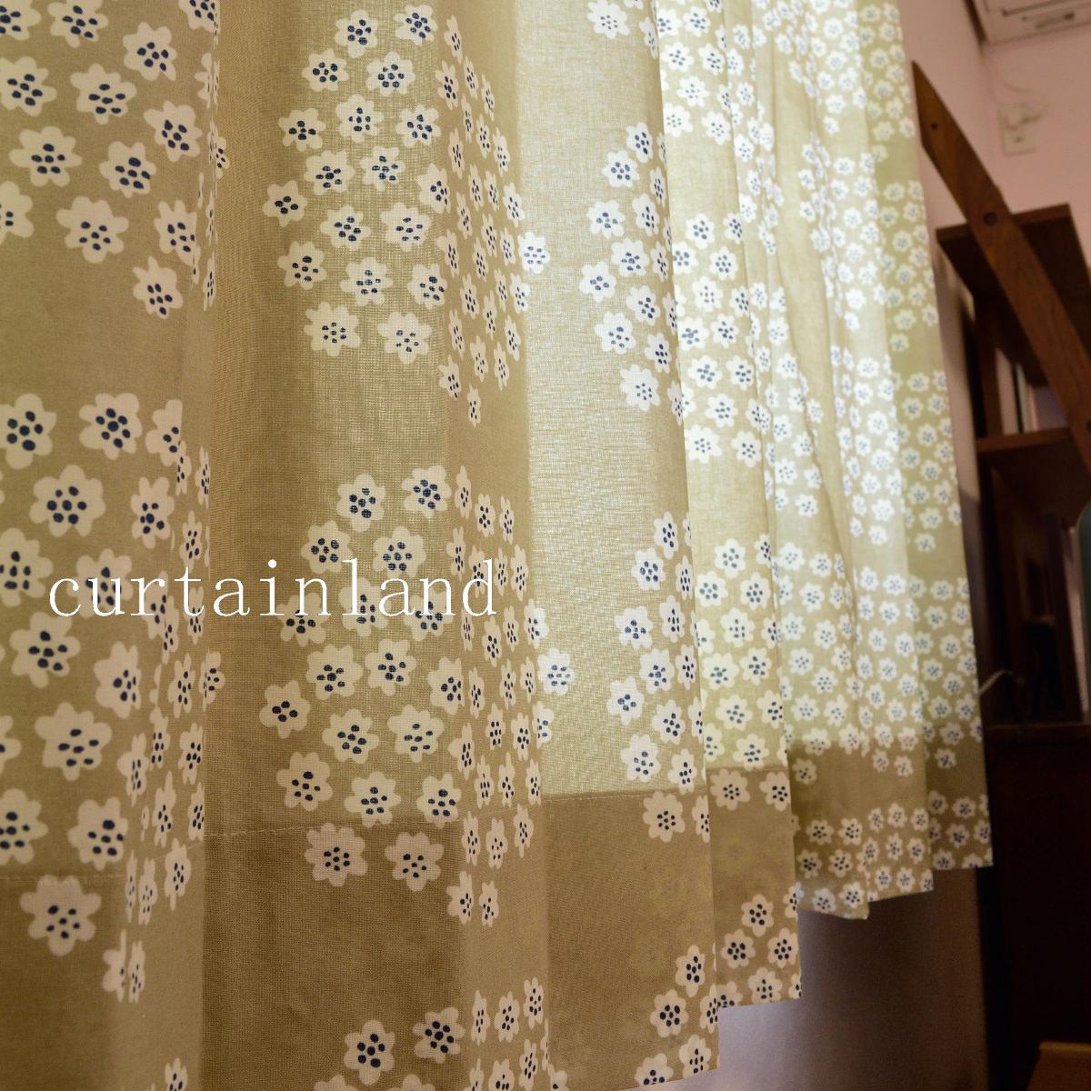 マリメッコ プケッティのカーテン