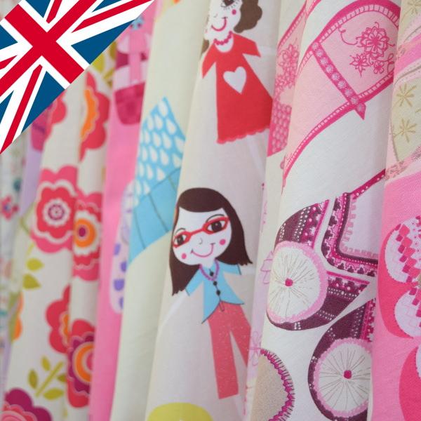 イギリスキッズカーテン