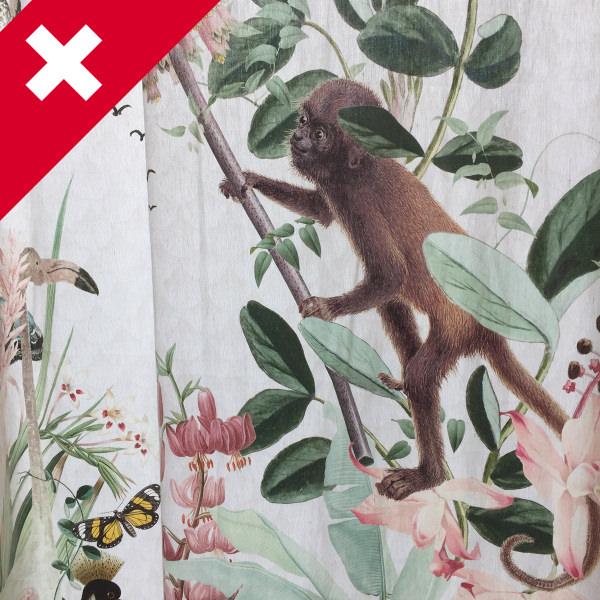 スイスプリントカーテン