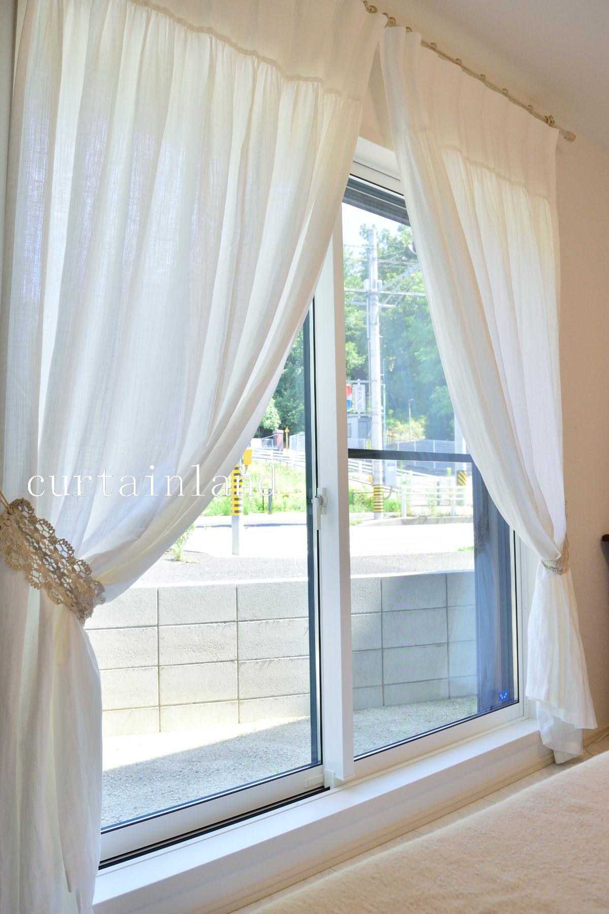コットンドレススタイルカーテン