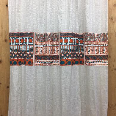 デザインボーダーカーテン