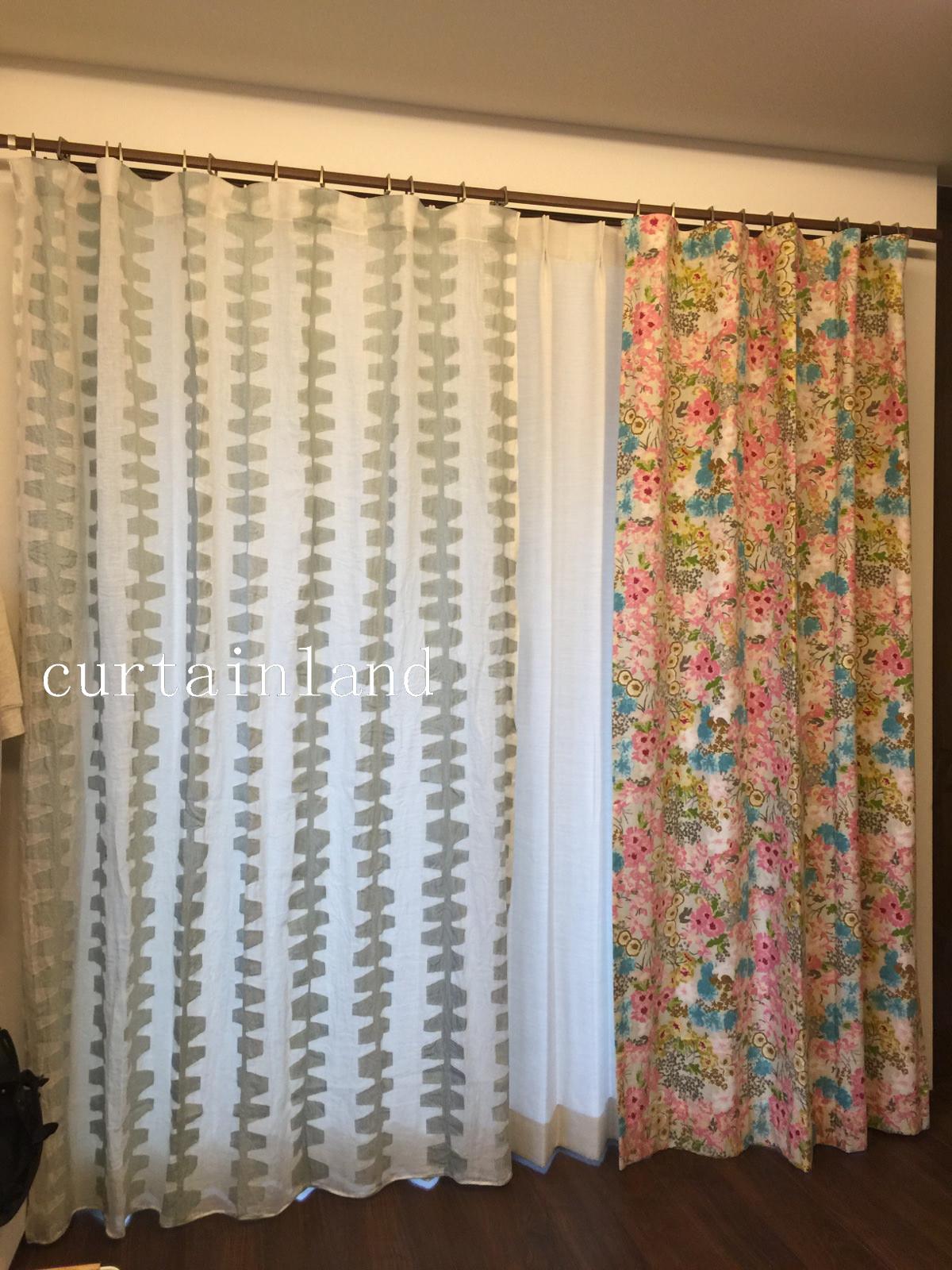 お気に入りのカーテンをお直し