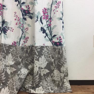 ボトムデザインカーテン