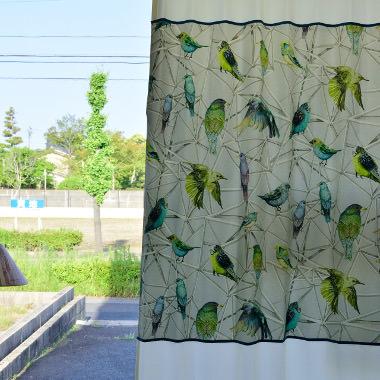 ピクチャーデザインカーテン