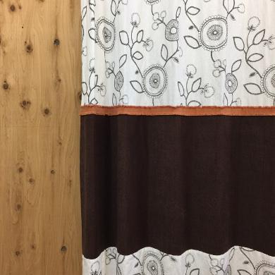 プレーンボーダーカーテン