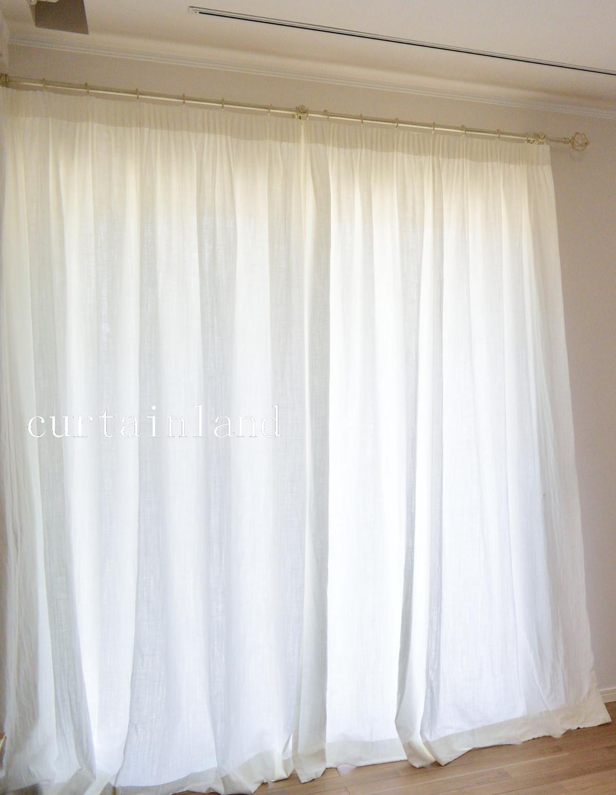 コットンギャザーカーテン