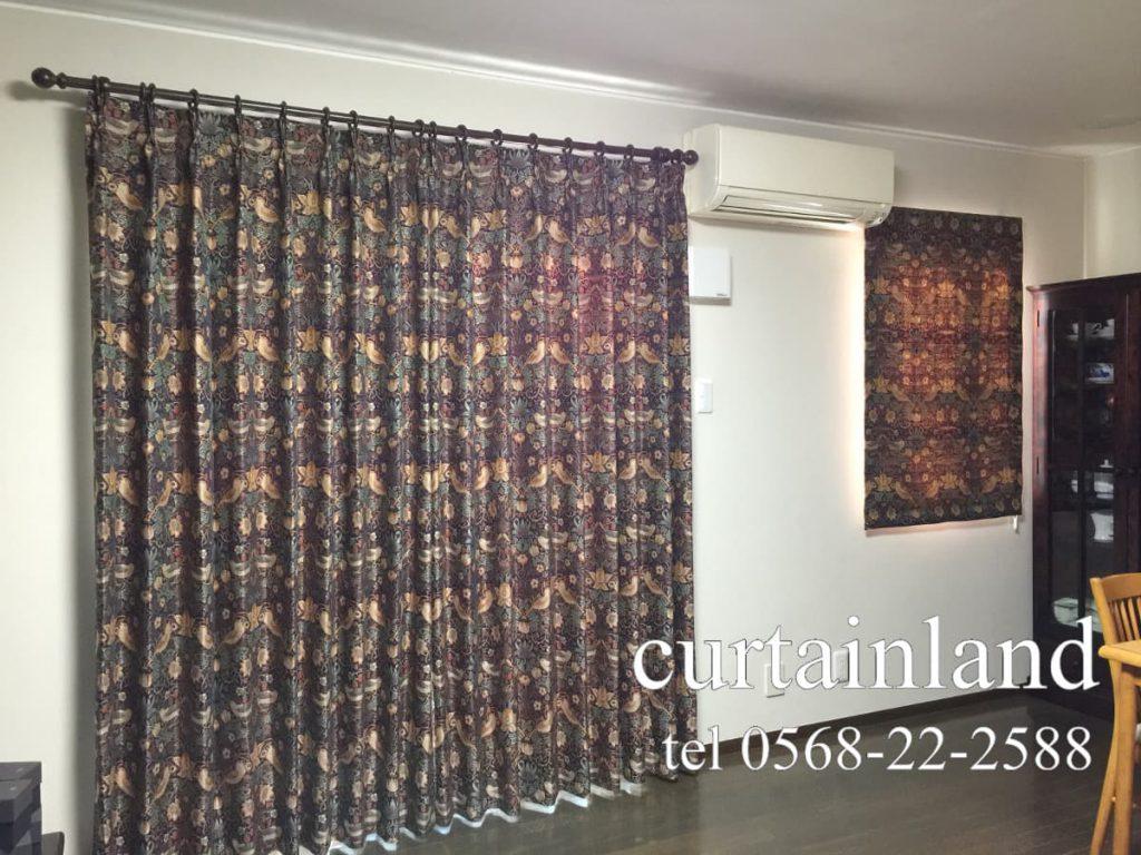 ウィリアム・モリスのジャガードカーテン