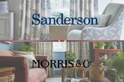 サンダーソン&ウィリアムモリス カーテンフェア