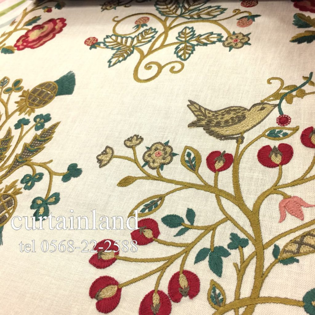 morris newill embroidery
