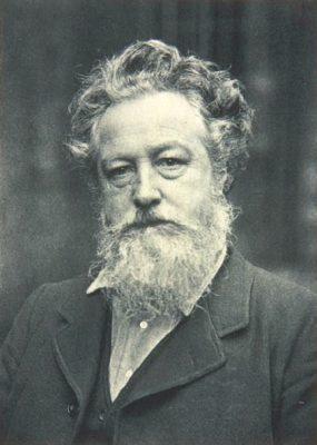 ウィリアム・モリスの肖像