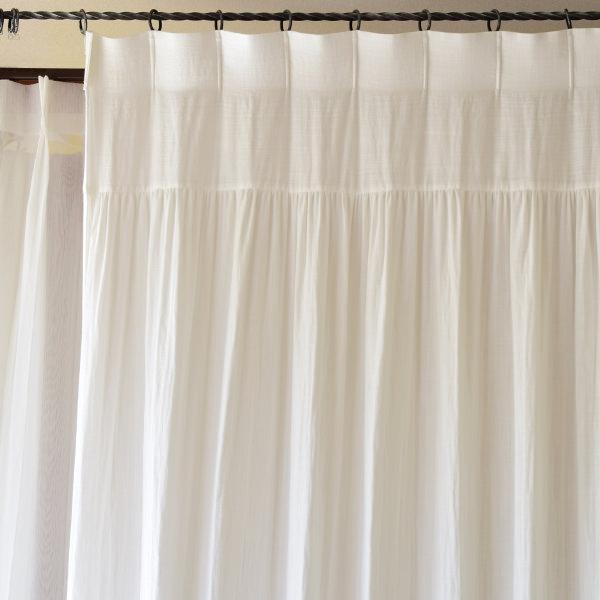 コットンダブルガーゼスタイルカーテン