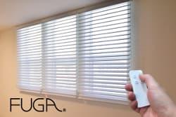 電動調光ロールスクリーンFUGAフェア