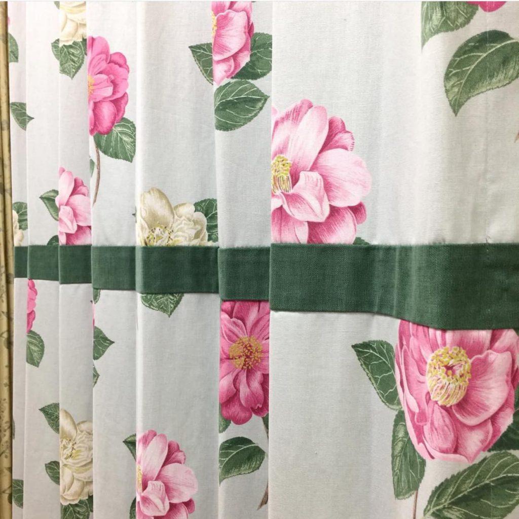 ウエストマークデザインカーテン